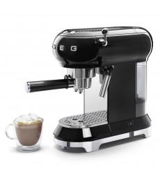 SMEG Espresso-Kaffeemaschine Schwarz