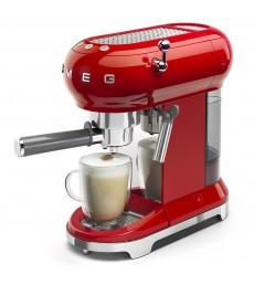 SMEG Espresso-Kaffeemaschine Rot