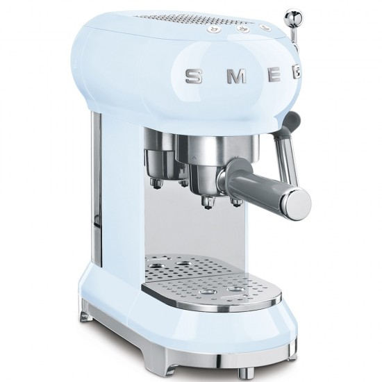 SMEG Espresso-Kaffeemaschine Pastellblau