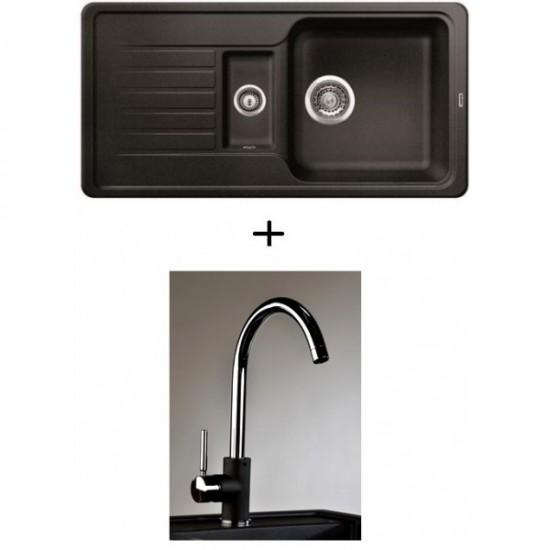 SET Spüle Blanco Favos 6 S mit Armatur Infinity (6 Farben)