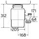 InSinkErator Evolution M100 Küchenabfallentsorger