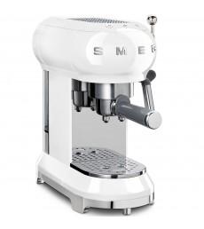 SMEG Espresso-Kaffeemaschine weiß, ECF01WHEU