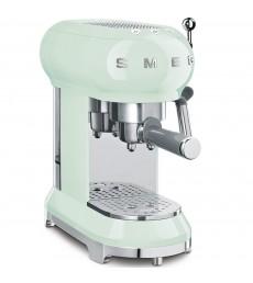SMEG Espresso-Kaffeemaschine pastellgrün, ECF01PGEU