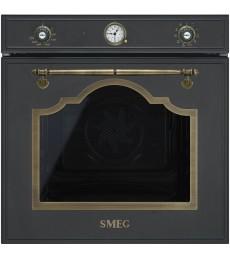 Smeg SF750AO Einbaubackofen, Anthrazit-Messing Antik, 60 cm