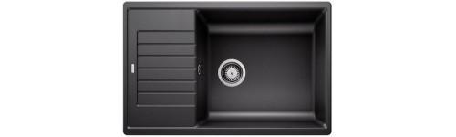 SET ZIA XL 6 S Compact - 7 Farben (Spüle + Armatur)